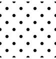polka dot bold seamless pattern vector image vector image
