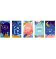 ramadan kareem happy greeting card eid vector image