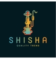 Shisha hookah for tobacco smoking and mixtures vector image vector image