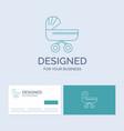 trolly baby kids push stroller business logo line vector image