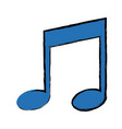 note music harmony melody song icon vector image