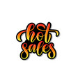 calligraphy phrase hot sales for banner ico vector image vector image