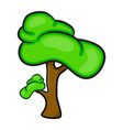 Cartoon tree symbol icon design beautiful