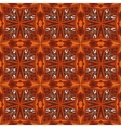 ethnic tribal geometric print vector image