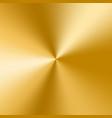 golden cone gradient vector image