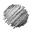 hand drawn pencil scribble stain vector image