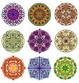 Mandalas collection vector image vector image