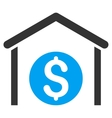 Money Storage Flat Icon vector image vector image