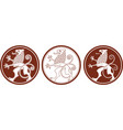 mythologie clipart heraldic gryphon vector image