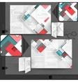 Business Brochure Template Design vector image