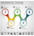 Infographic design template and marketing icon vector image vector image