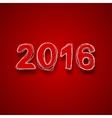 modern 2016 happy new year background vector image vector image