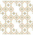 oriental tile disrupted seamless pattern arabic vector image vector image