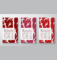 premium quality abstract meat labels cover vector image vector image