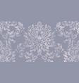 rococo texture pattern vector image vector image