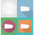 speech bubbles flat icons 15 vector image vector image