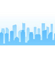 background with city for web site footer or vector image