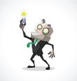businessman idea vector image