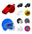 different kinds of sports cartoonblackflat vector image vector image