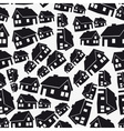 real estate simple house seamless pattern eps10 vector image vector image