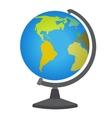 School desktop globe vector image vector image