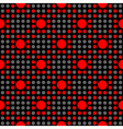 Seamless geometric abstract polka dot pattern vector image vector image