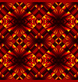 seamless pattern in colors of fire vector image vector image