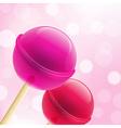 Sweet Lollipops vector image vector image