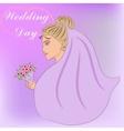 wedding day vector image vector image