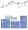 abstract background with christmas gifts vector image vector image