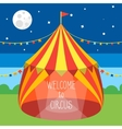 Circus Tent Invitation Card