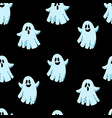 happy halloween seamless background wallpaper vector image vector image