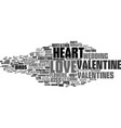 love word cloud concept vector image vector image
