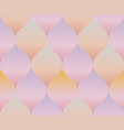 pale rose color gradient concept geometry pattern vector image vector image