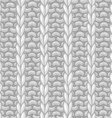 seamless pattern in knitting style vector image vector image