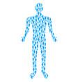 woman person person figure vector image vector image