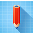 3d colorful pencil vector image