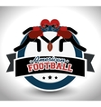 American Football sport game vector image vector image