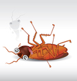 cockroach 02 vector image