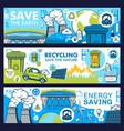 energy saving light bulb eco green plant earth vector image