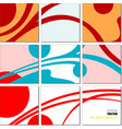 geometrical mosaic abstract pattern vector image