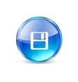 Icon flie vector image vector image
