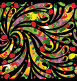 paisley colorful seamless pattern bright vector image vector image