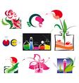 perfumery set vector image