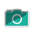 Photographic camera symbol vector image