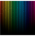 Abstract colorful rainbow vector image vector image