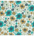 Hand drawn floral seamless patterns ornaments in vector image vector image