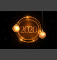 happy new year beautiful background vector image