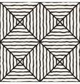 Seamless Diagonal Lines Grid Pattern vector image