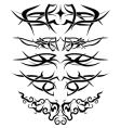 Tattoos set vector | Price: 1 Credit (USD $1)